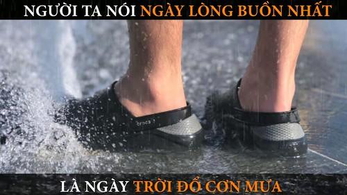 Lặng Lẽ Buông - Bơsin | Giày dép Crocs