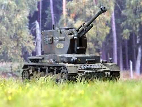 1:72 SdKfz. 161/5 Ausf. B (Selbstfahrlafette für 10,5 cm Leichte Feldhaubitze 18/4 auf Fahrgestell Panzerkampfwagen IV)