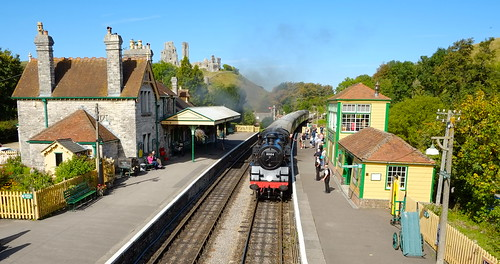 Locomotive 80104 @ Corfe
