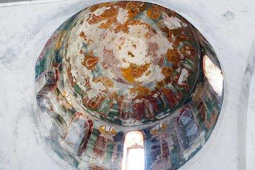 Frescoes of the northwest dome of the exonartex
