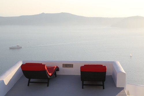 View on the Caldera,Santorini Island,Greece