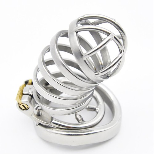 Cheap Chastity Cage Metal Male Stainless Steel Penis Cage SQ279