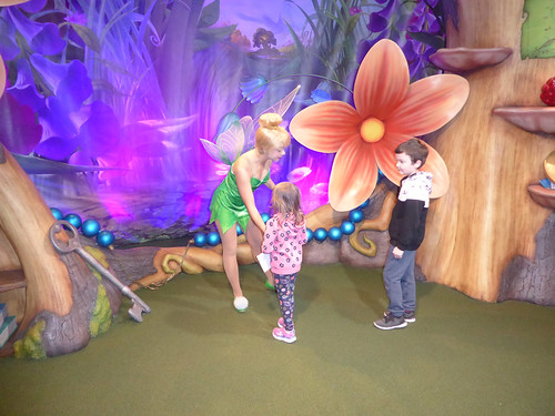 Florida Day 17 - 004 Magic Kingdom Town Square Theater Meeting Tinker Bell