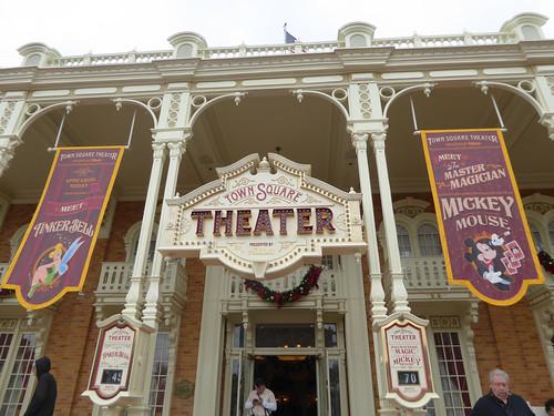 Florida Day 17 - 002 Magic Kingdom Town Square Theater