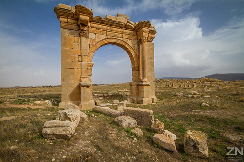 The Ruins of Diana Veteranorum,  (Zana El Beida, Batna) [ALGERIA]