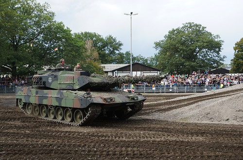 Leopard IIA5 TVM @ Stahl auf der Heide 2019
