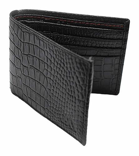 addon adele Black Bi-Fold Men's Wallet