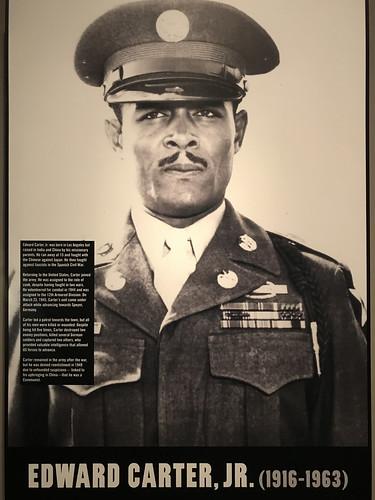 Edward Carter, Jr.  American Hero