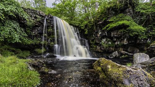 East Gill Force, Waterfall in Swaledale East of Keld