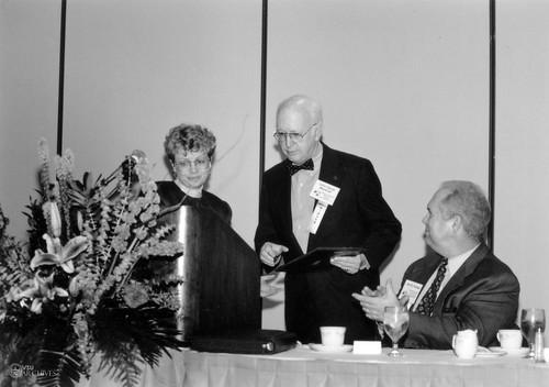 Beverly James, John Marshall, & Joe Forsee