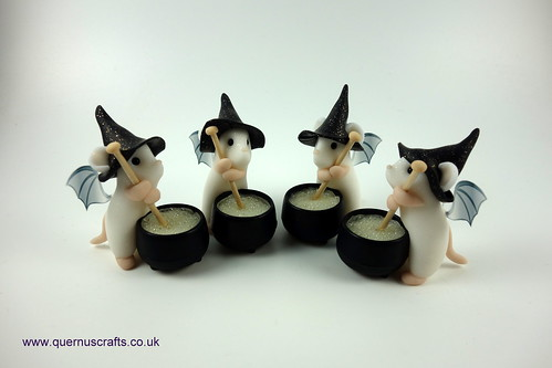 Little Fairy Witchy Cauldron Mice