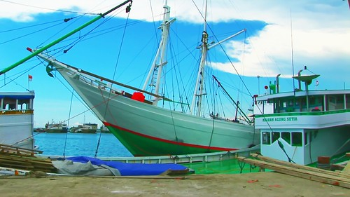 Indonesia - Sulawesi - Makassar - Paotere Harbour - 115