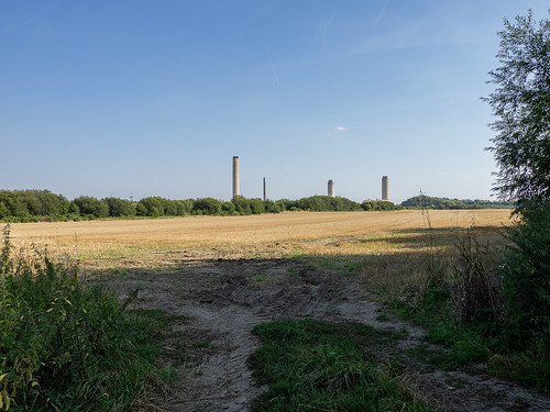 Didcot A after demolition of last three towers