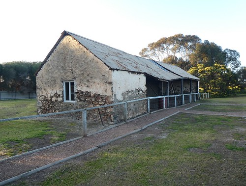 Poonindie Mission Station stables with quarters, Eyre Peninsula South Australia