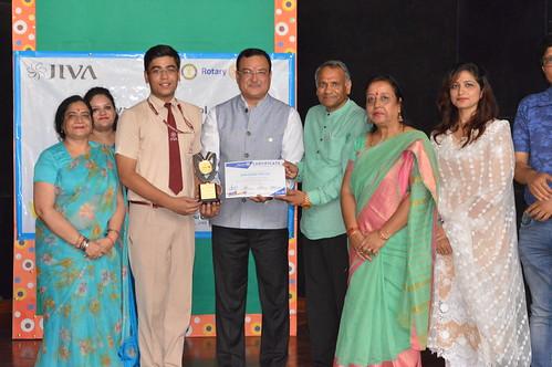 Best Interact Award for Himanshu Mittal
