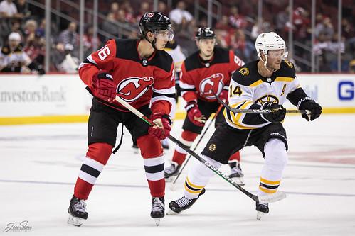 NJ Devils vs Boston Bruins (9/16/19)