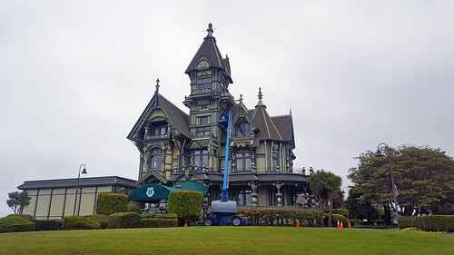 The Carson Mansion in Eureka