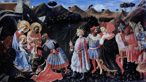 IMG_2950QAF Pseudo Domenico di Michelino actif à Florence vers 1450-1475 Adoration des Mages   Vatican Pinacothèque