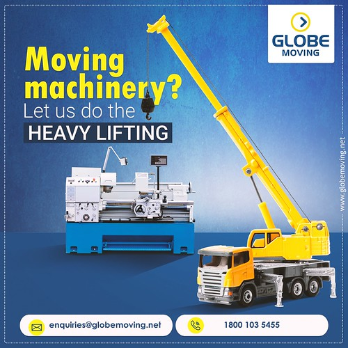 Heavy Machinery Moving Services