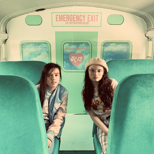 Hanna and Amelia on Melanie Martinez K-12 Bus