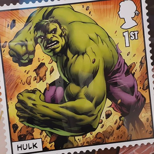 Oh, look, Royal Mail are issuing a stamp dedicated to the #Brexit negotiations. Series 2, due November 1st, is just panels depicting the twisted fascist horror of the Jaspers Warp storyline in Captain Britain. #comics #satire