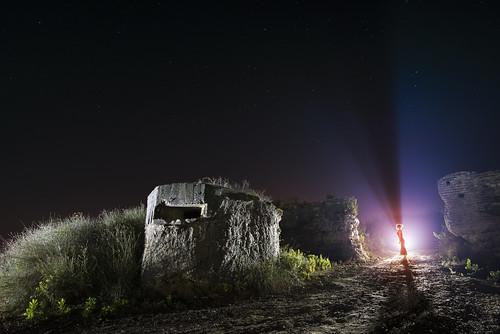 Albanian Bunker in Durres, Albania.