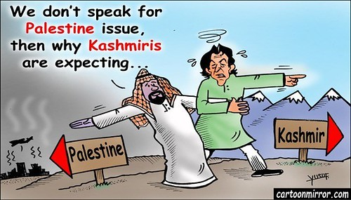 Kashmir issue: Gulf countries are not interested like Palestine issue
