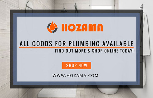 All Goods For Plumbing Available | Hozama Online Store