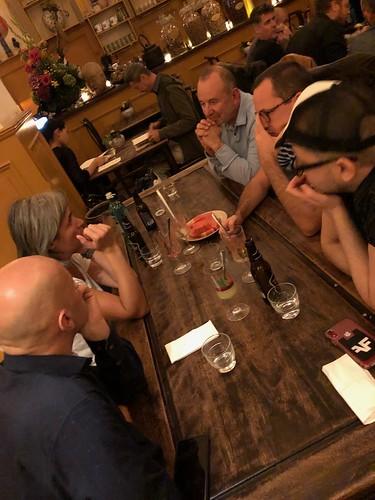 EMC FORMAT MASTER CLASS WELCOME DINNER at Chén Chè Teehaus Berlin