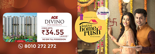 Festive Home Rush 2   Ace Divino   Best Residential Projects in Noida Extension