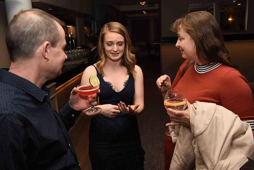 036 Paul McGuire, Kaitlin O'Callaghan and Amy Seaton