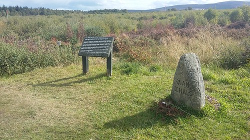 Clan Donald Memorial, Culloden Battlefield, Inverness, Sep 2018