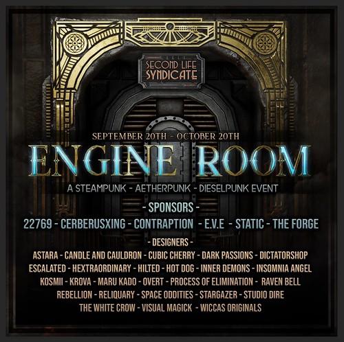 Engine Room September 2019