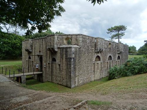 Fort de la pointe à Sainte Marine Combrit