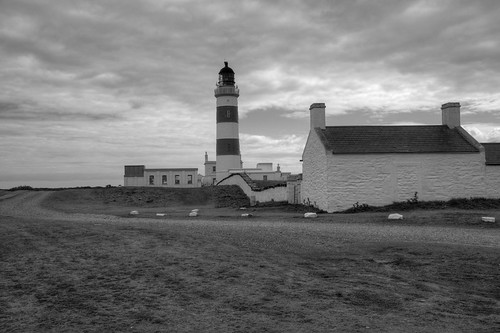 POINT OF AYRE HIGH LIGHTHOUSE, POINT OF AYRE, ISLE OF MAN, UNITED KINGDOM.