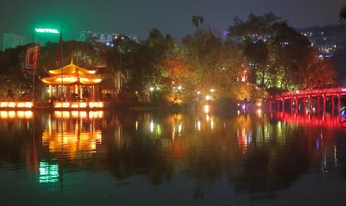 Thê Húc Bridge To Jade Island