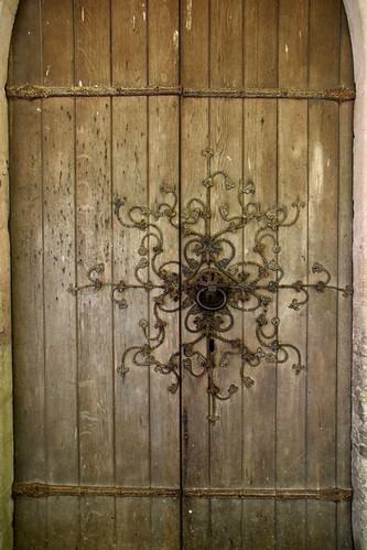 south door ironwork