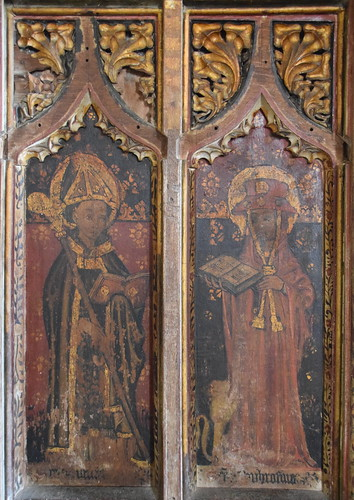 St Gregory and St Jerome