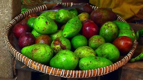 Indonesia - Java - Yogyakarta - Market - Avocado