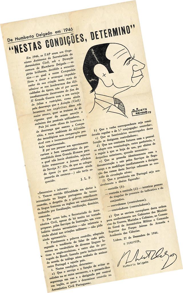 Grande demitidor controleiro, in «InterTAP; jornal do e para o pessoal», n.º 9, 21/IV/1975