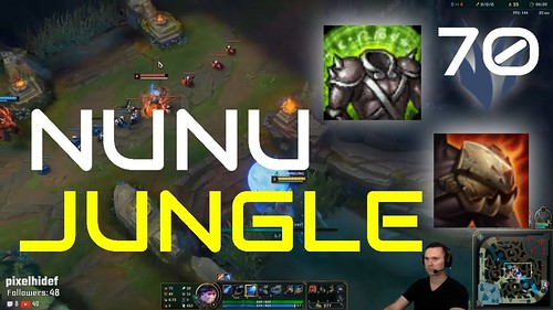 Rotate with Nunu to Assist Every Lane for Automatic Win - Jungle - Iron to gold Series EP70