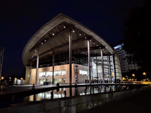 Palacio de Congresos de Valencia, obra de Norman Foster