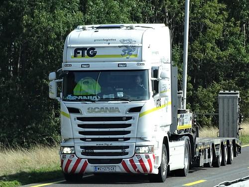Scania R580 topline from FTG Austria.