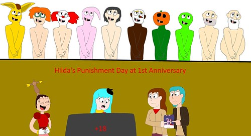 Hilda's Punishment Day at 1st Anniversary