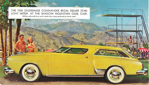 Studebaker Starlight Hatch or The Stude-A-Pacer