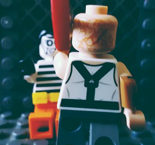 Zebra Man-The Last Supper #2