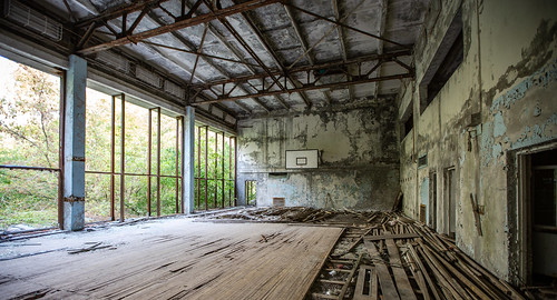 The Gym at Pripyat School - 11/09/2019