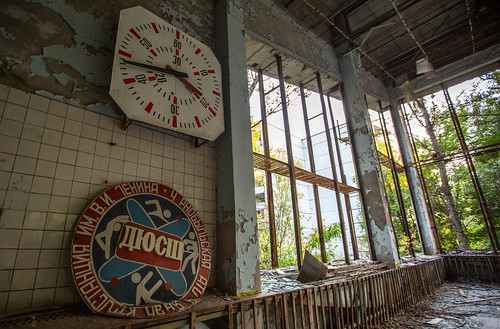 Swimming Pool Clock - Pripyat - 11/09/2019