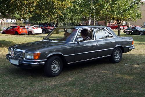 1977 Mercedes W116 S-Klasse 350 SEL Front