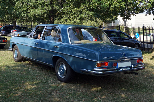 1971 Mercedes W109 300 SEL 3,5 Heck